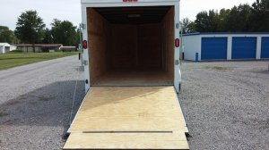 storage trailer ramp