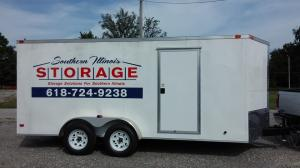 Cargo storage trailer